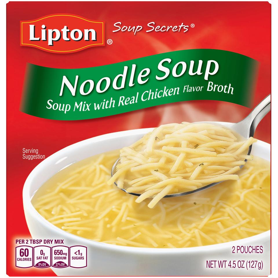 Lipton Soup Secrets Noodle Soup