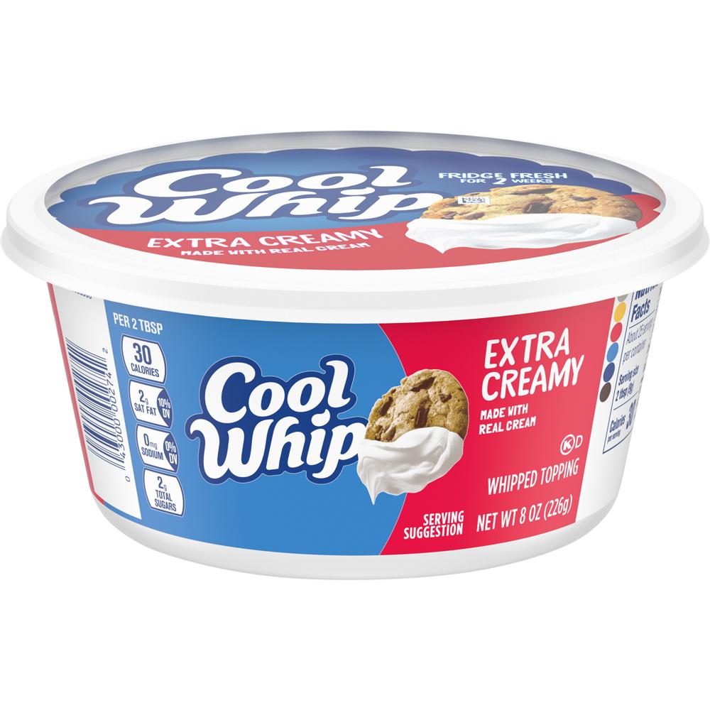 Kraft Cool Whip Extra Creamy