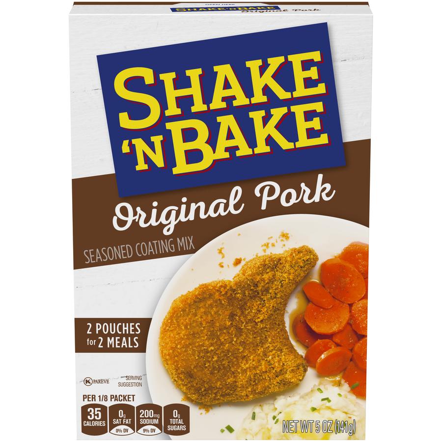 Shake N' Bake Original Pork Kit