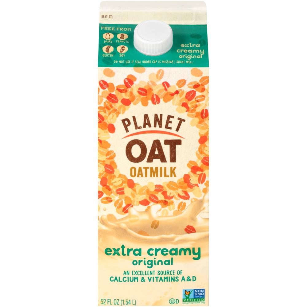 Planet Oat Extra Creamy Oatmilk
