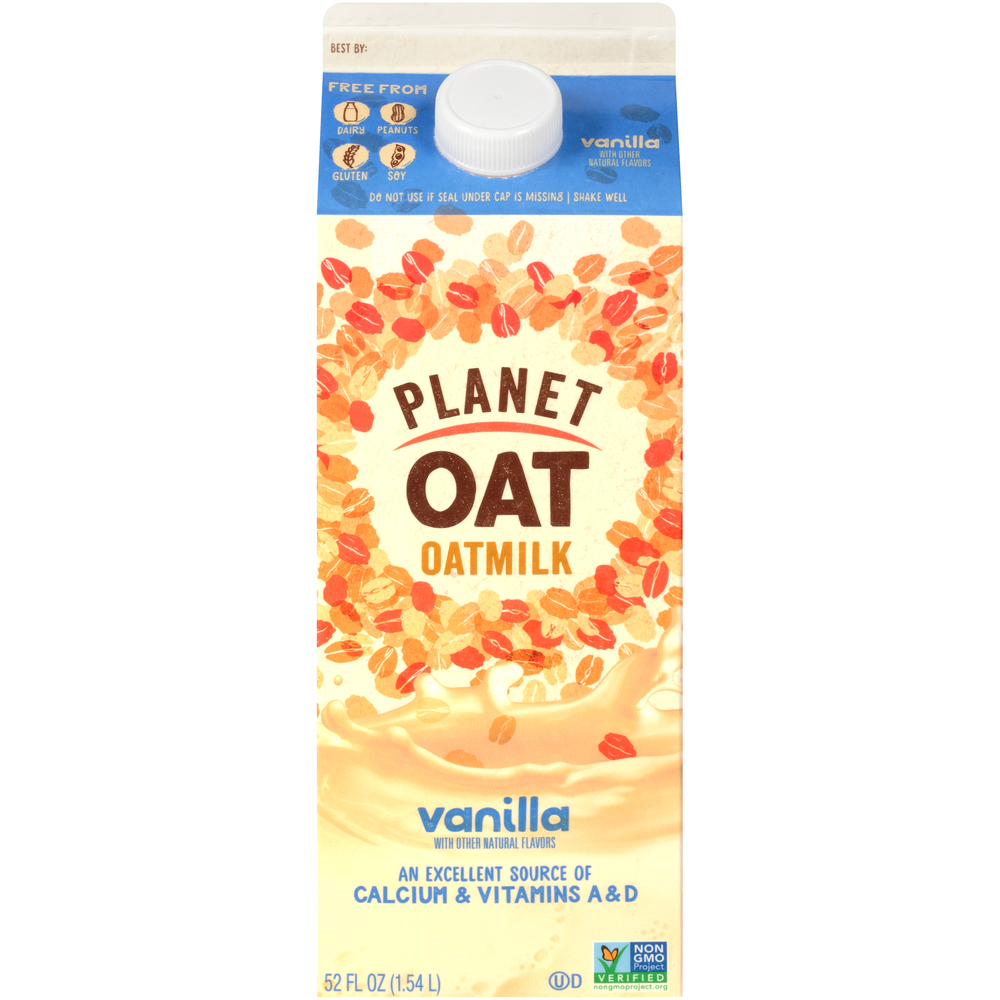 Planet Oat Vanilla Oatmilk