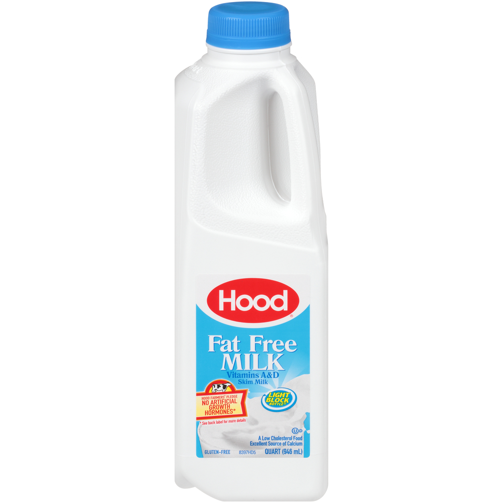 Hood Fat Free Milk 1Qt