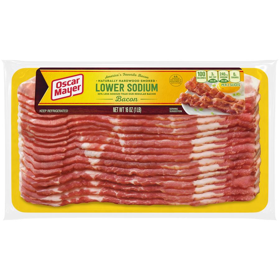 Oscar Mayer Low Salt Bacon