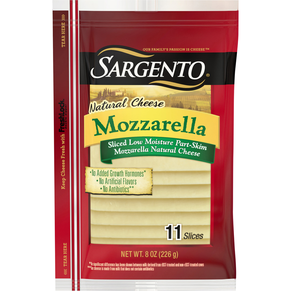 Sargento Sliced Mozzarella