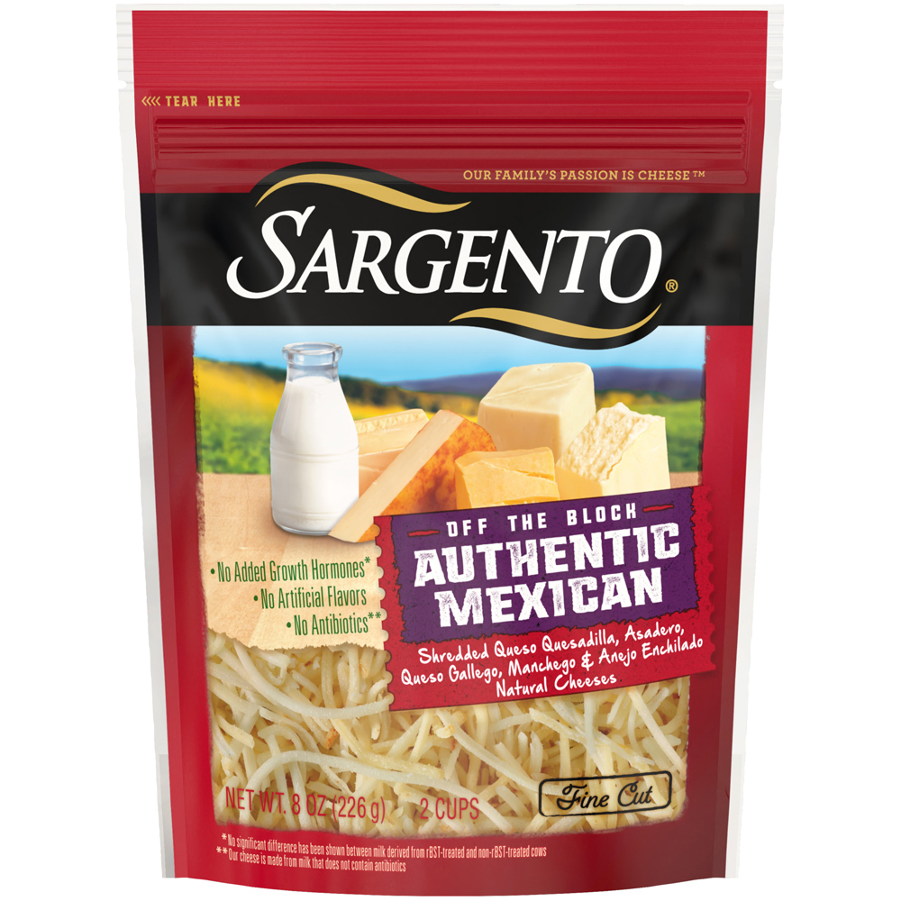 Sargento Shreds Artisan Blends