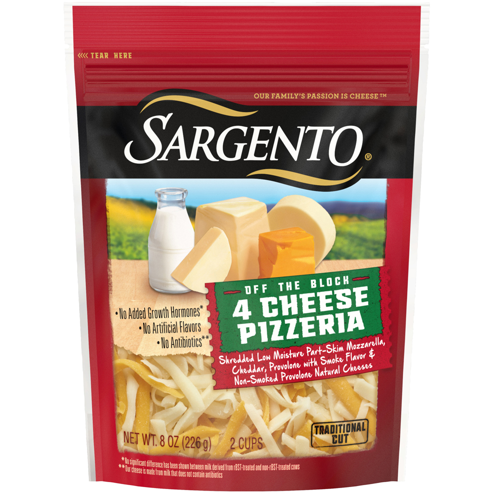 Sargento Shreds 4 Cheese Pizza