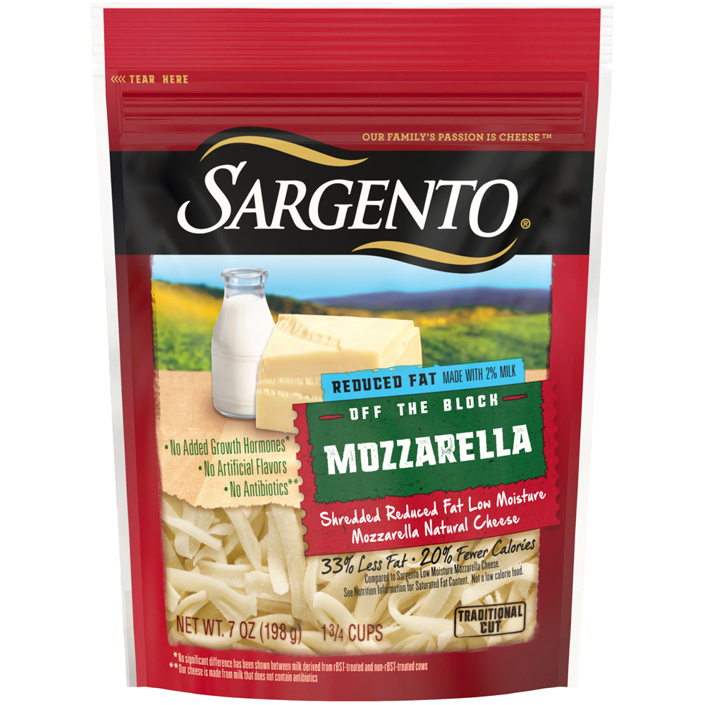 Sargento Shreds Reduced Fat Mozzarella