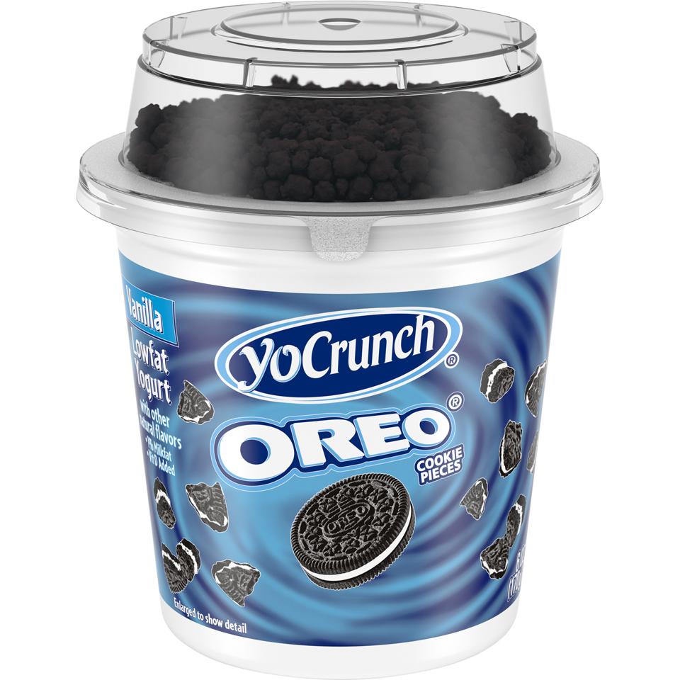 Yo Crunch Cookies and Cream