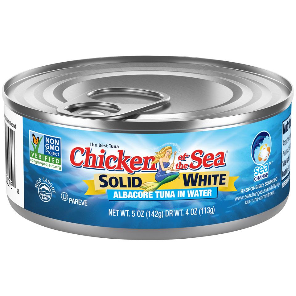 Chicken of the Sea Solid White Albacore Tuna