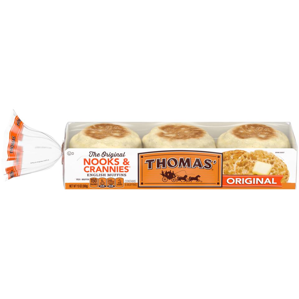 Thomas' English Muffins Original Nooks & Crannies