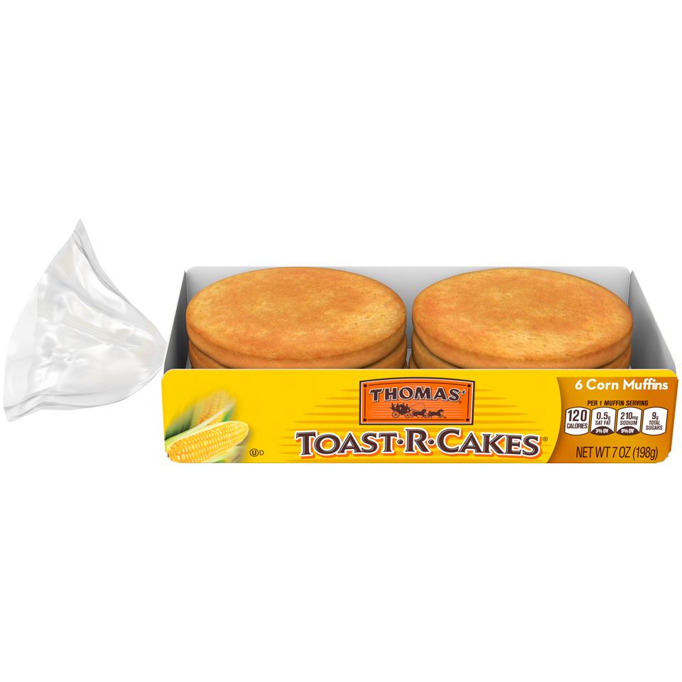 Thomas' Toast-r-cakes Corn Muffin