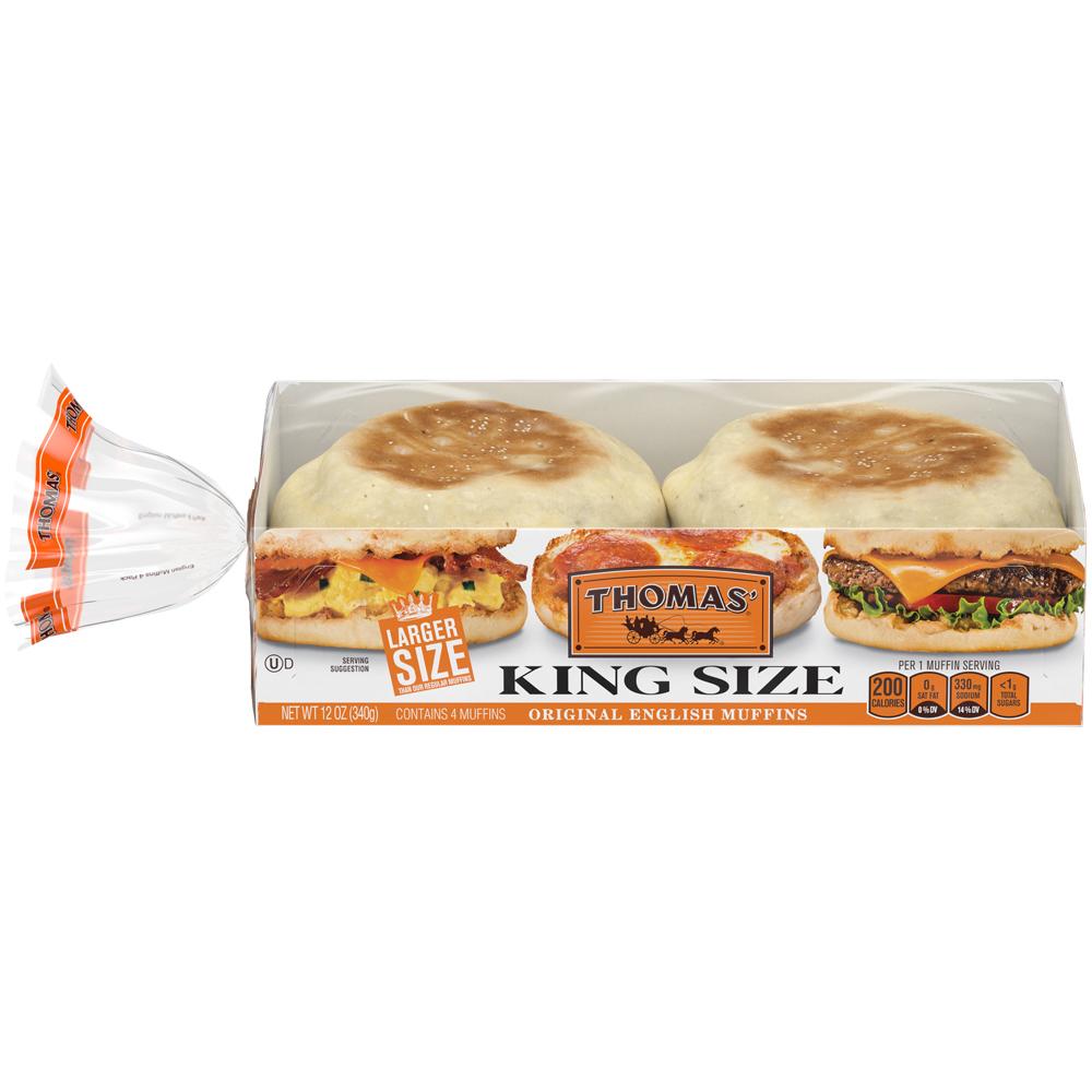 Thomas' English Muffins Original Sandwich Size