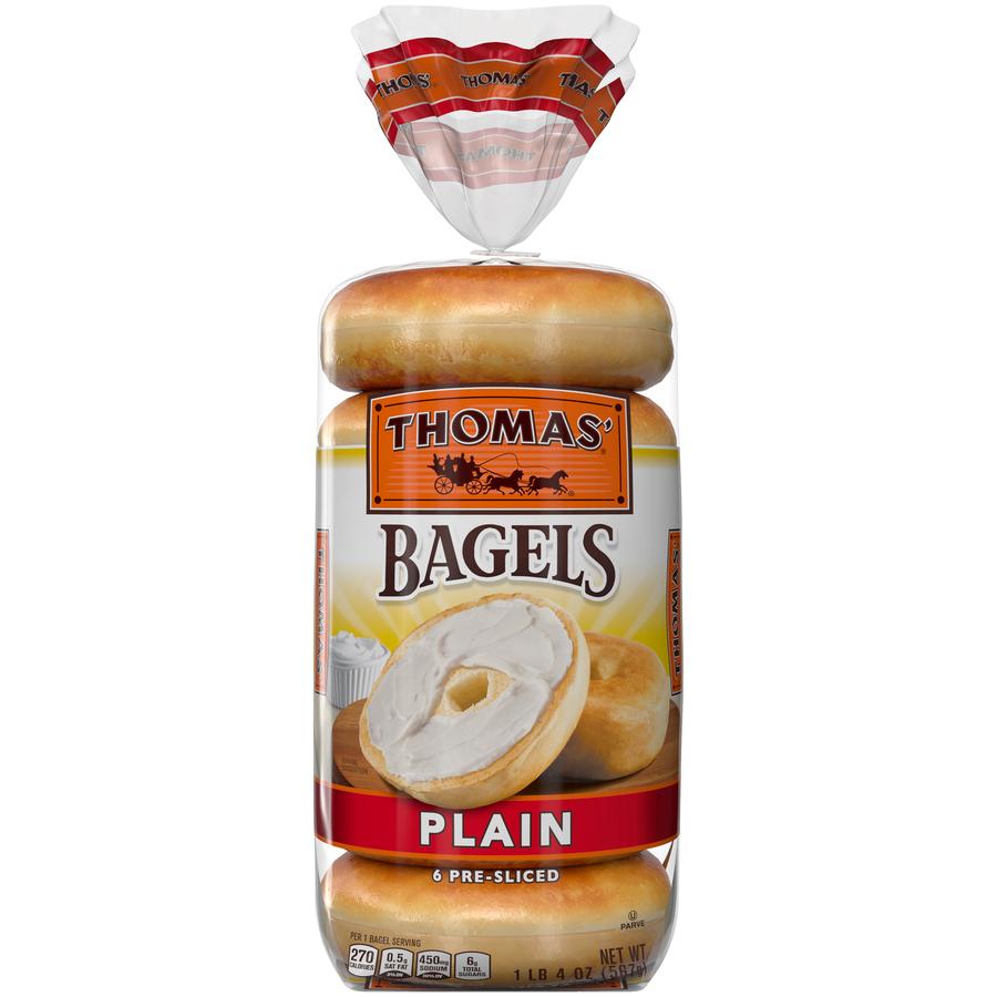 Thomas' Hearty Bagles Plain