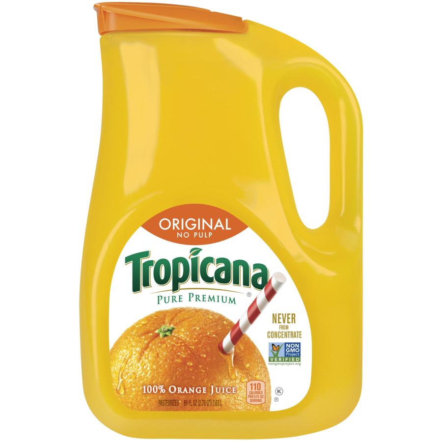 Tropicana Orange Juice Original No Pulp