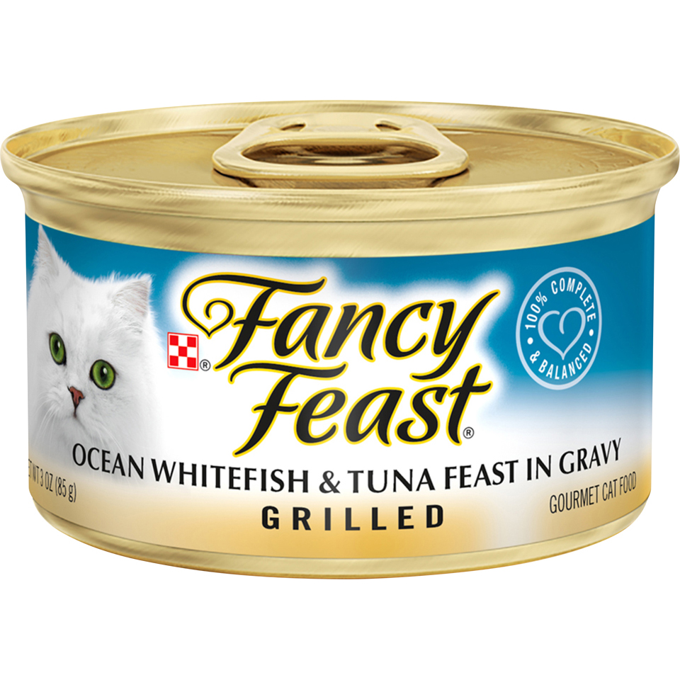 Fancy Feast Grilled Whitefish & Tuna