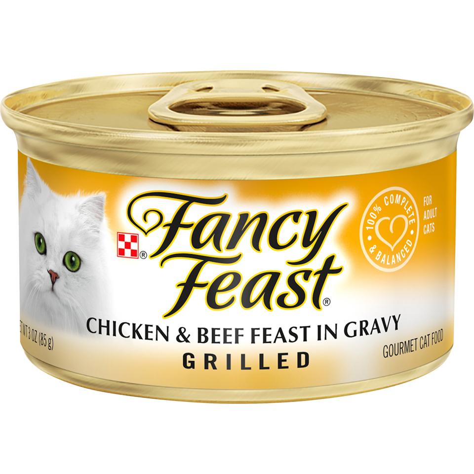 Fancy Feast Grilled Chicken & Beef