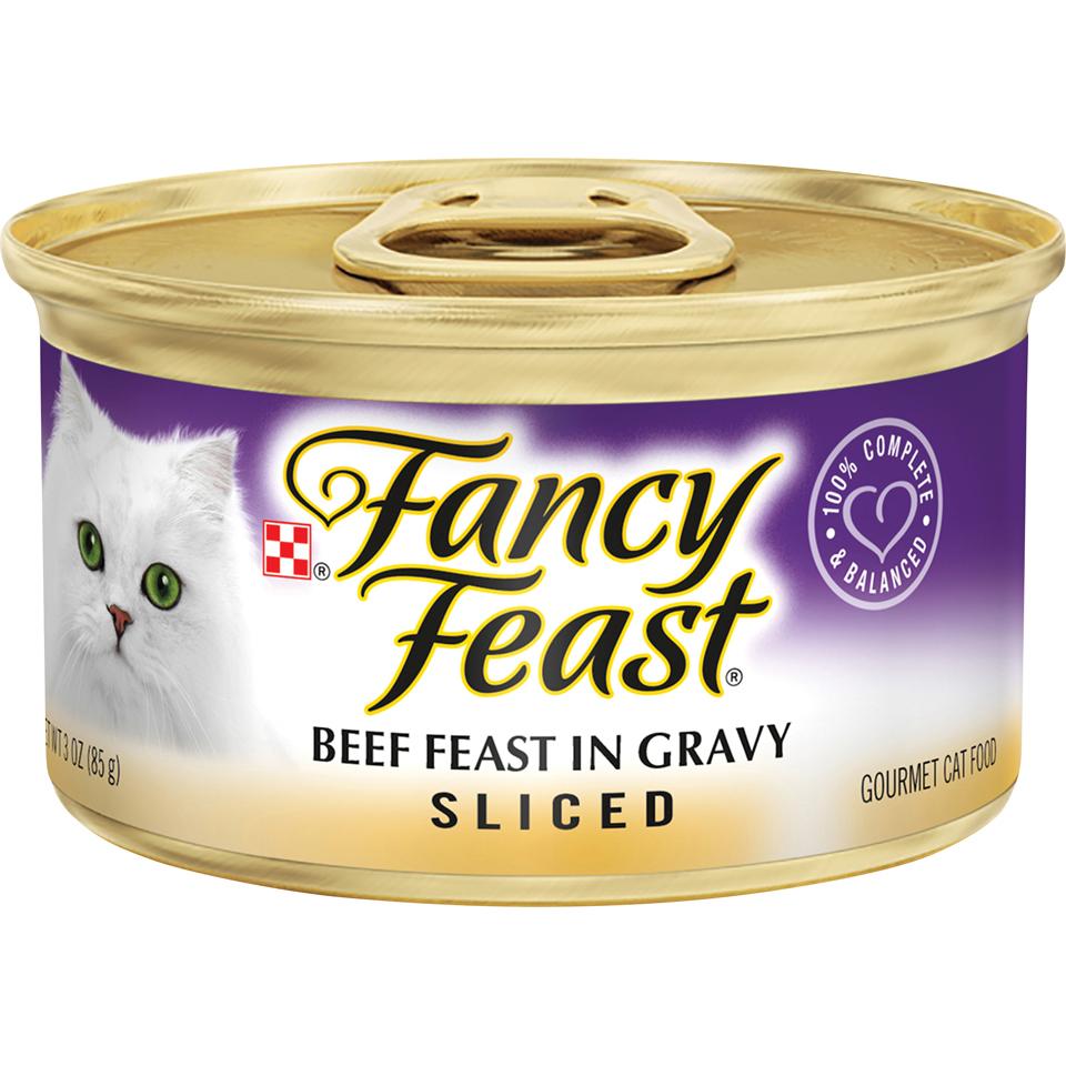 Fancy Feast Feast Sliced Beef
