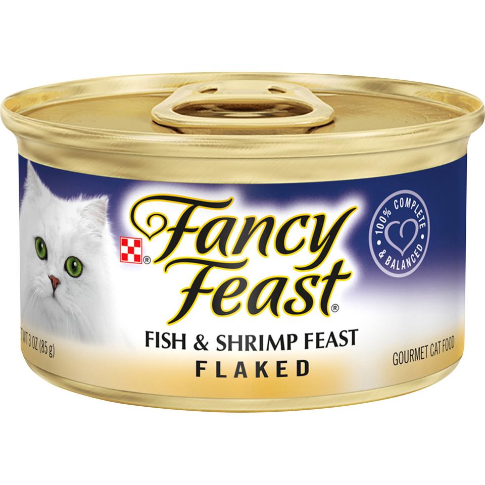 Fancy Feast Flaked Fish & Shrimp
