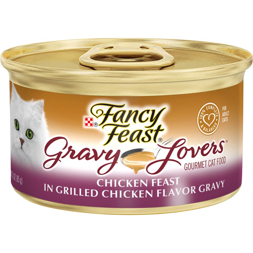 Fancy Feast Gravy Chicken