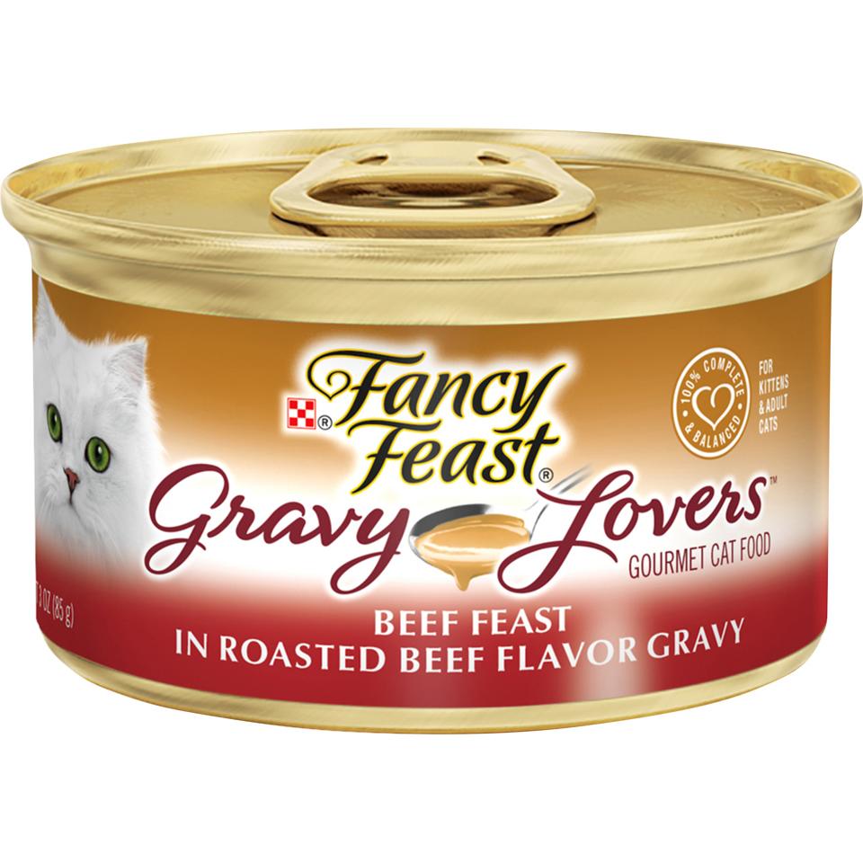 Fancy Feast Gravy Beef