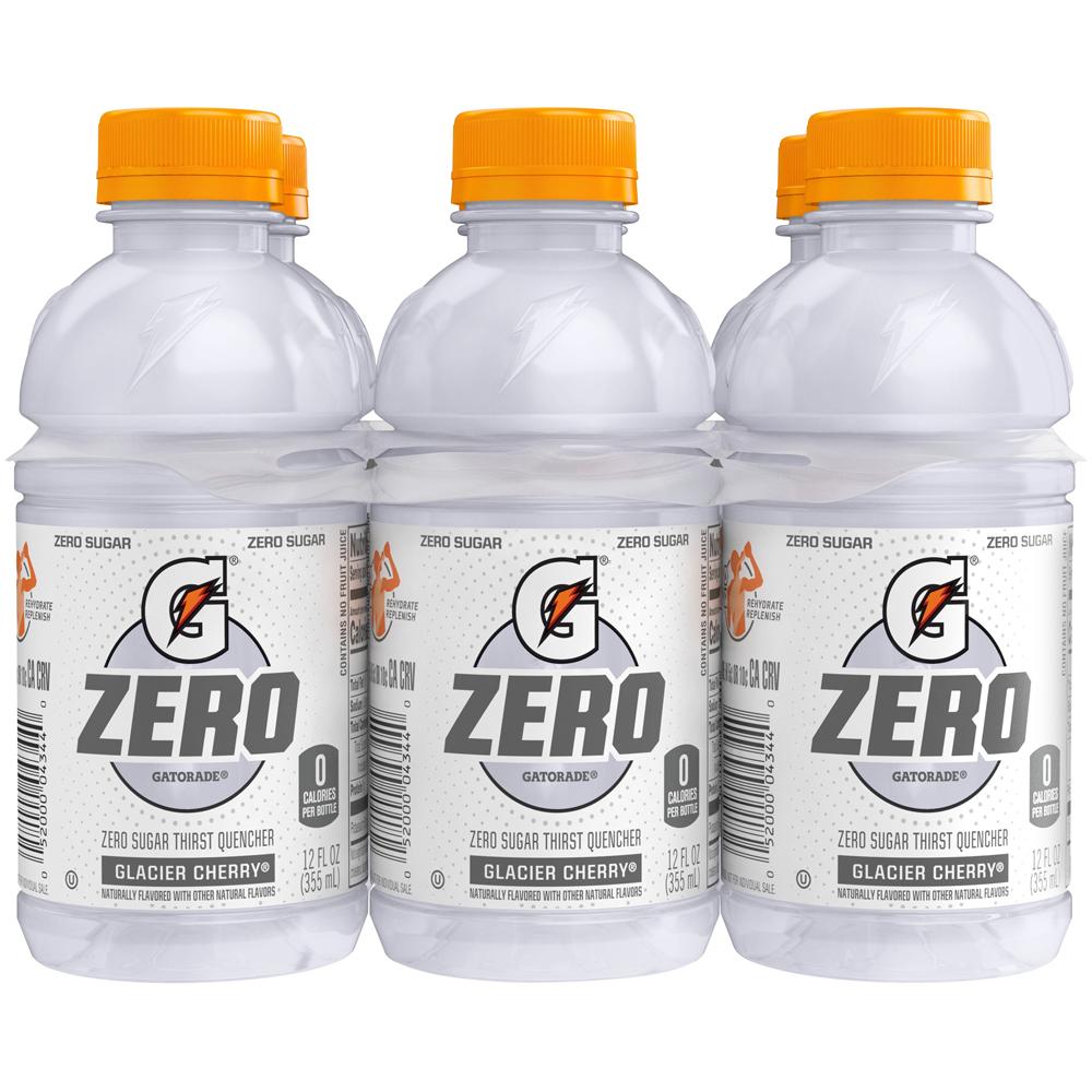 Gatorade Zero Sugar Glacier Cherry 6pk