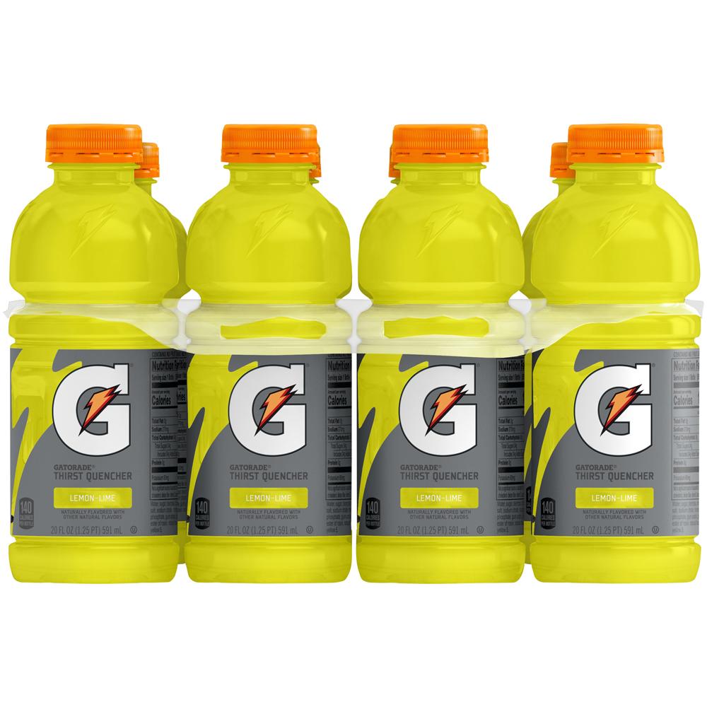 Gatorade Lemon Lime 8pk-20 fl oz