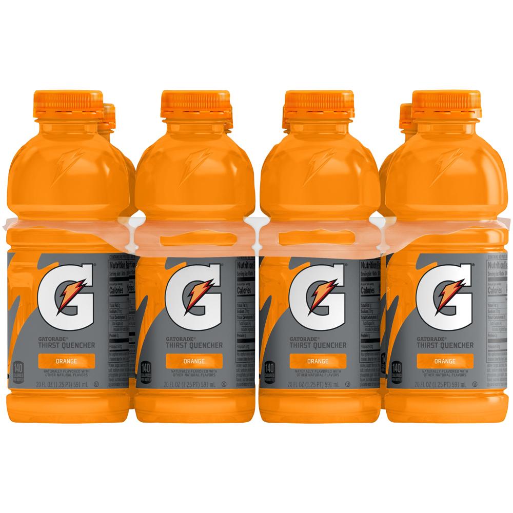 Gatorade Orange 8pk-20 fl oz