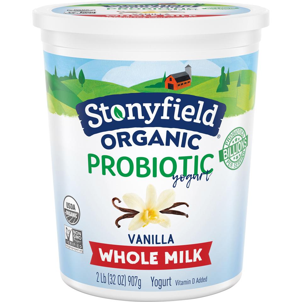 Stonyfield Organic Vanilla