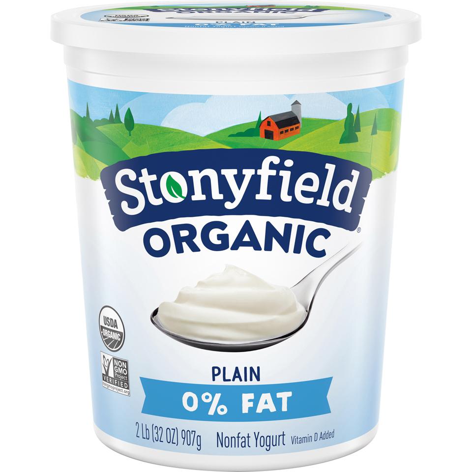 Stonyfield Plain Fat Free