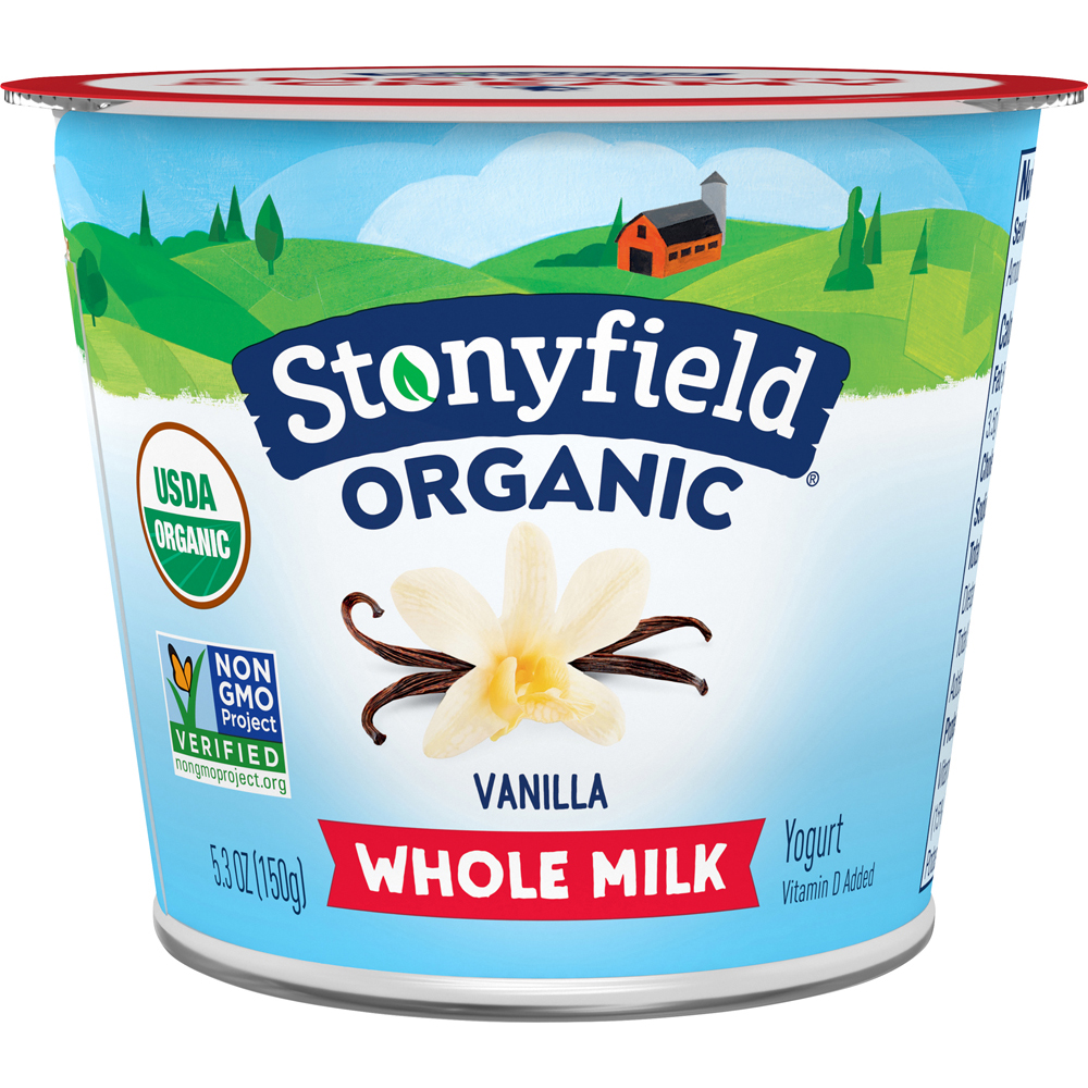 Stonyfield French Vanilla Fat Free