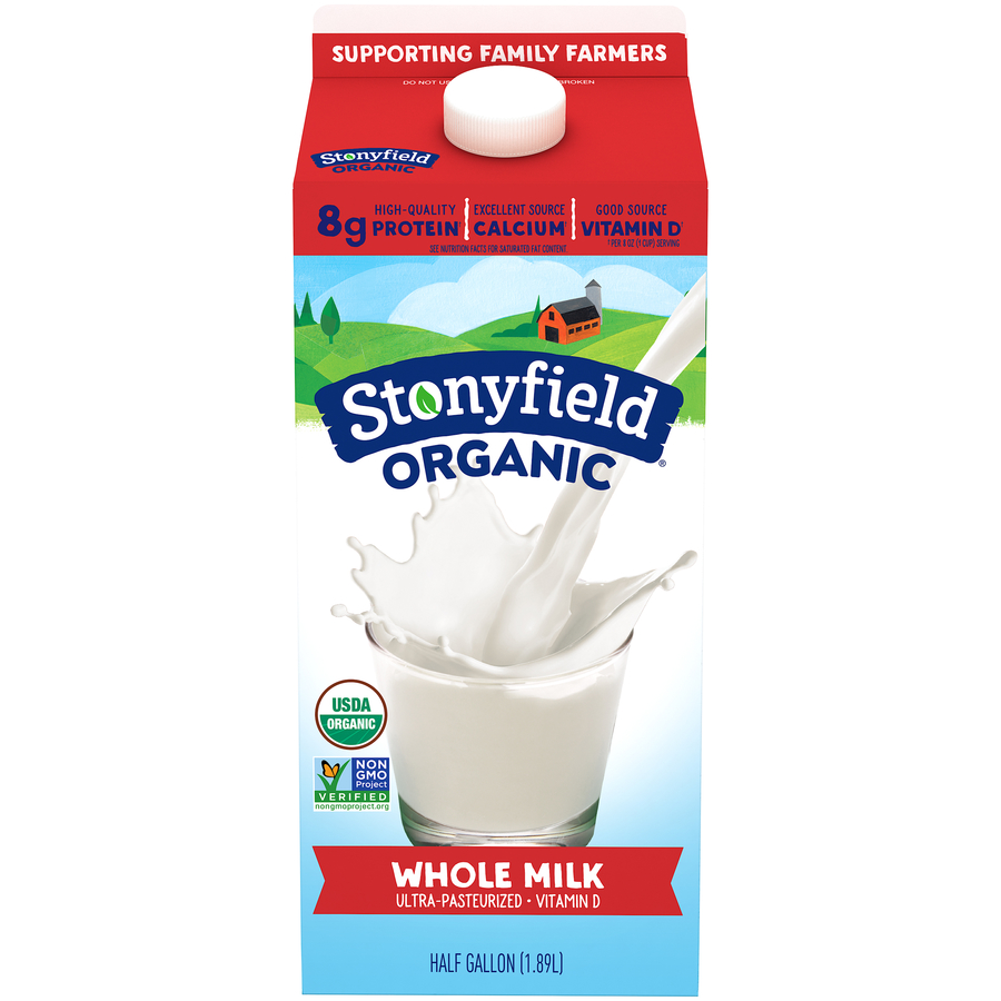 Stoneyfield Organic Whole Milk