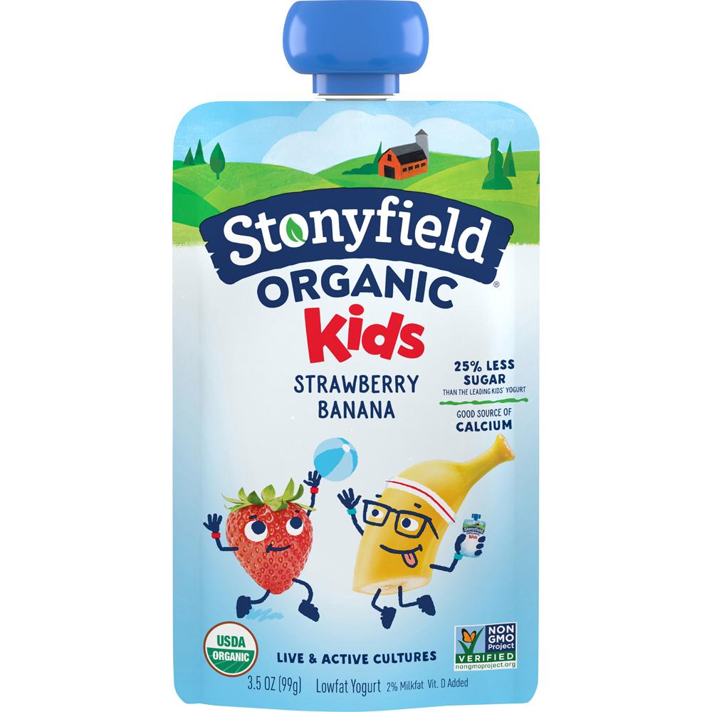 Stonyfield Yokids Strawberry Banana
