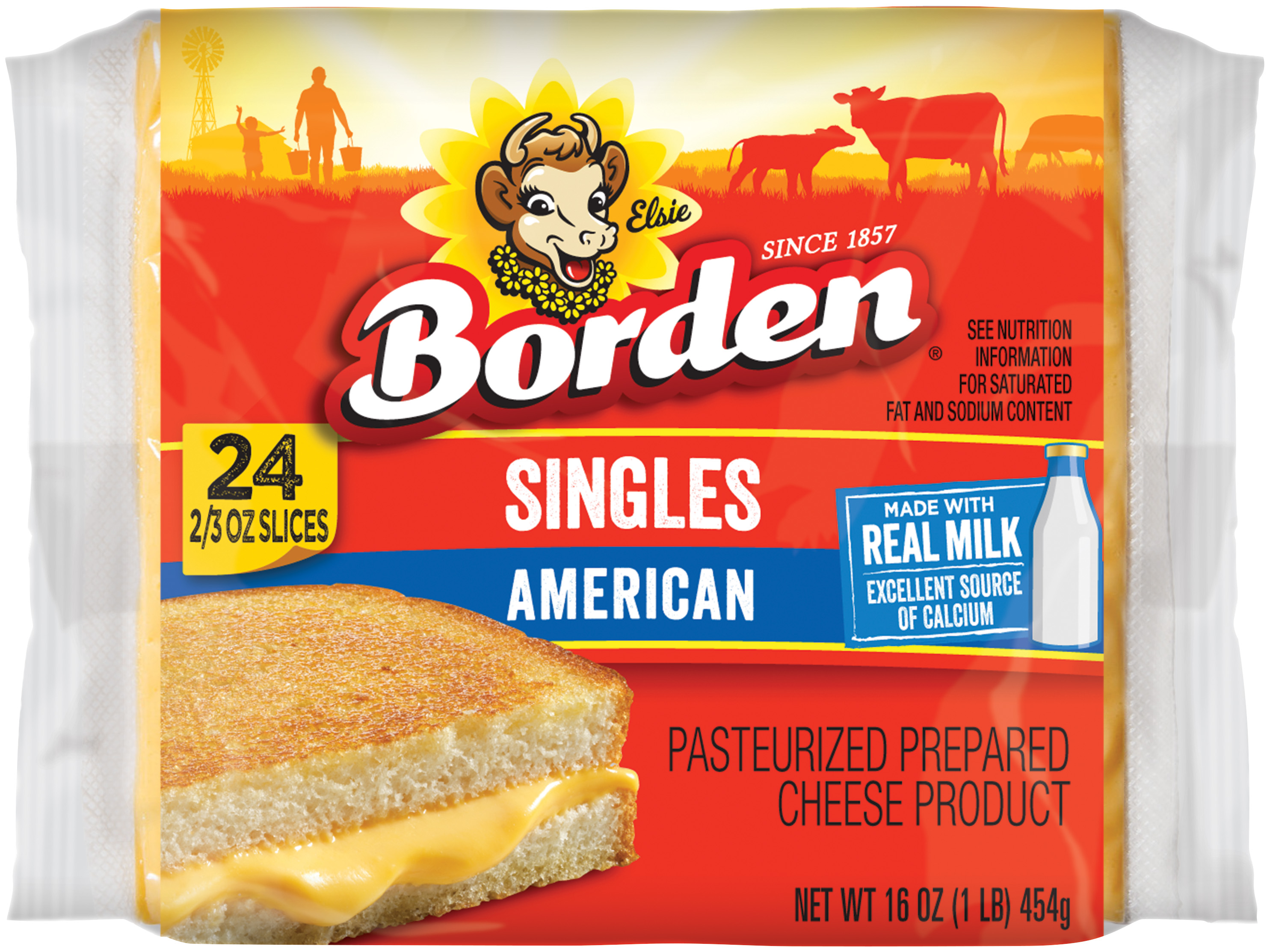 Borden Yellow American Singles