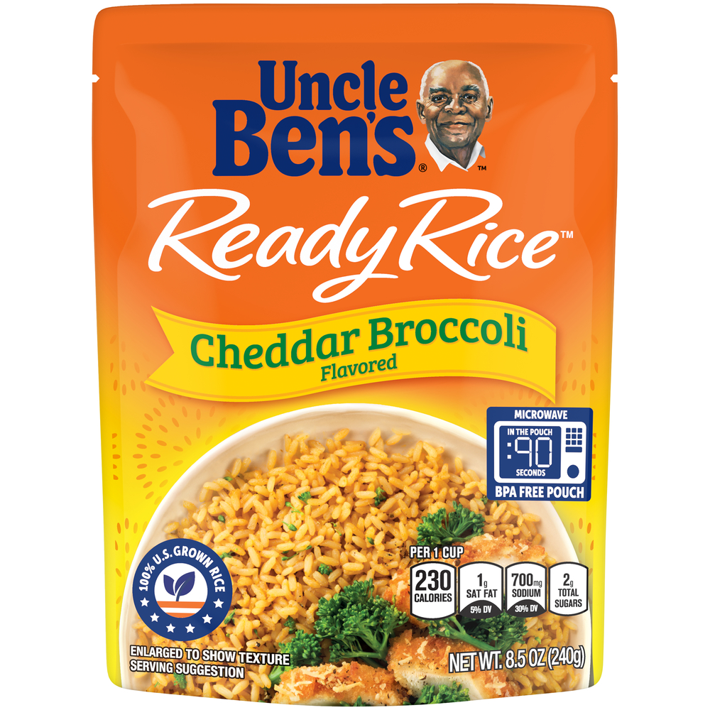 Uncle Ben's Ready Rice Cheddar & Broccoli