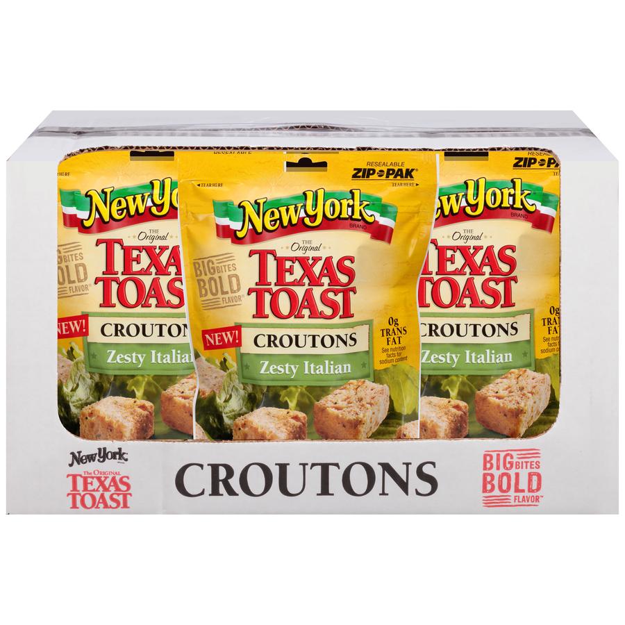 Texas Toast Zesty Italian Croutons
