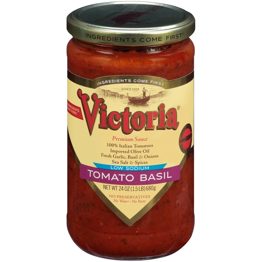 Victoria Low Sodium Tomato Basil