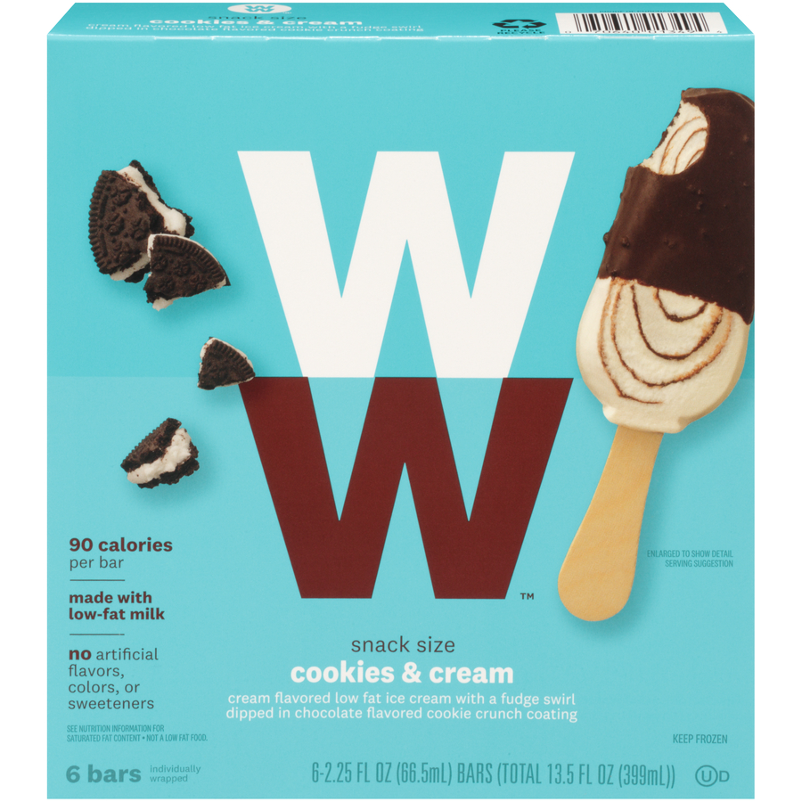 Weight Watchers Cookies and Cream