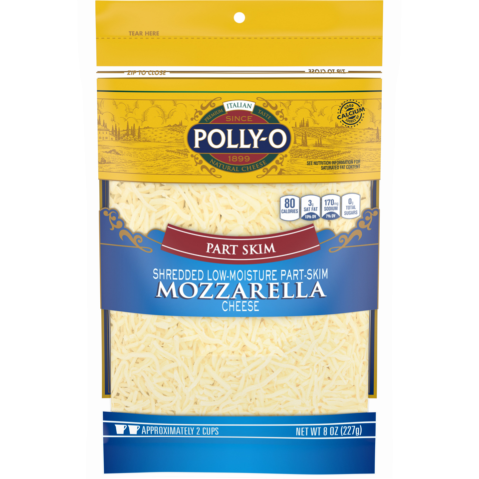 Polly-o Shreds Part Skim Mozzarella