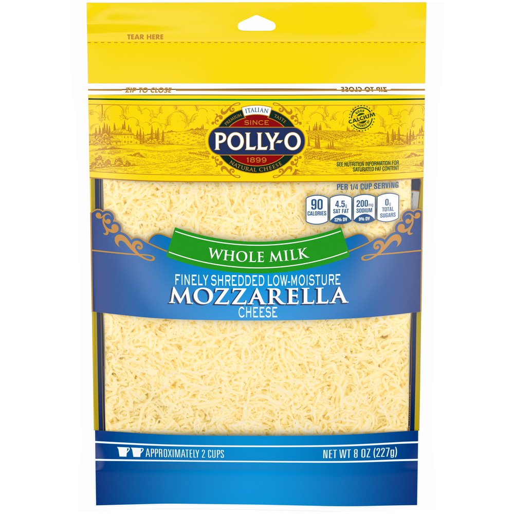 Polly-o Shreds Part Skim Mozzarella Low Moisture