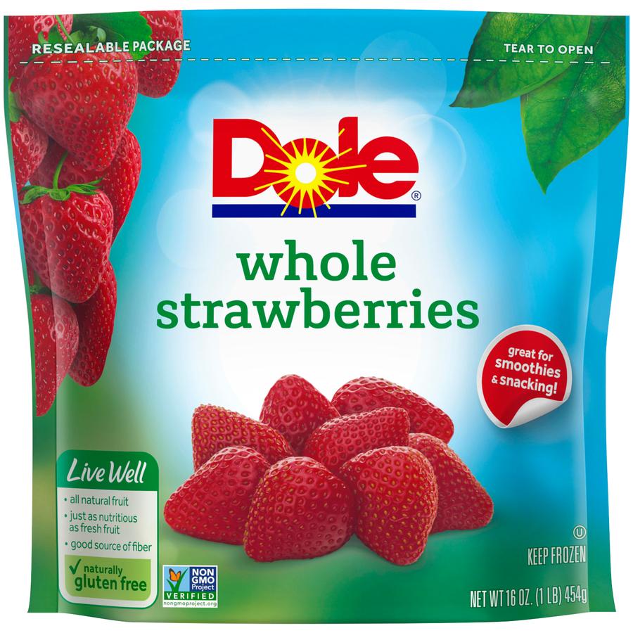 Dole Frozen Whole Strawberries