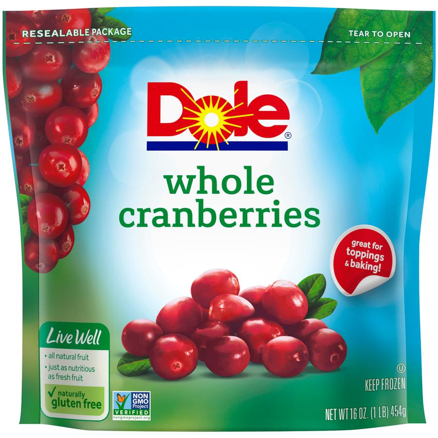 Dole Frozen Whole Cranberries