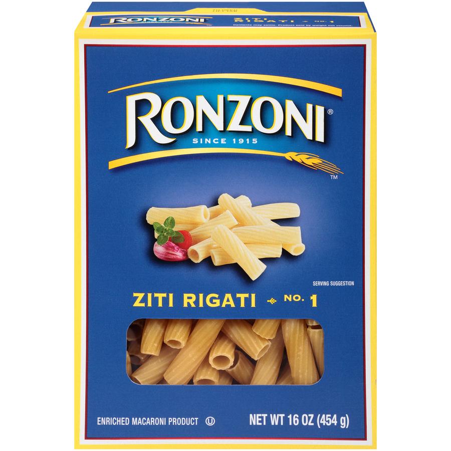 Ronzoni 1 Ziti Rigati