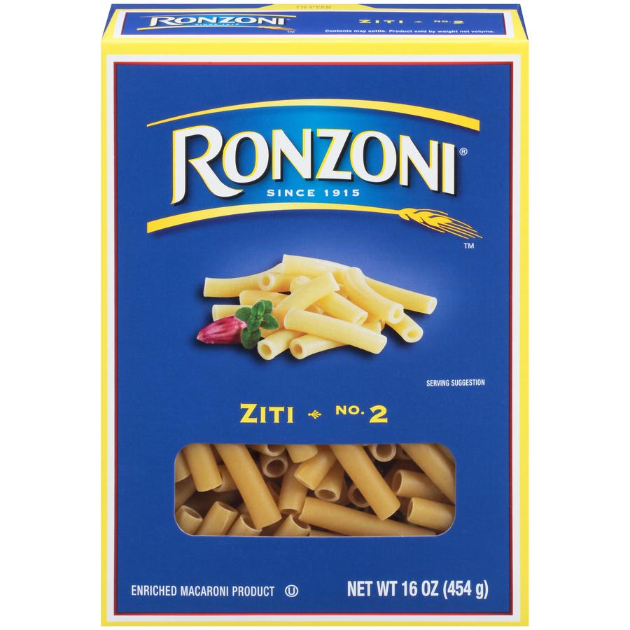 Ronzoni 2 Ziti