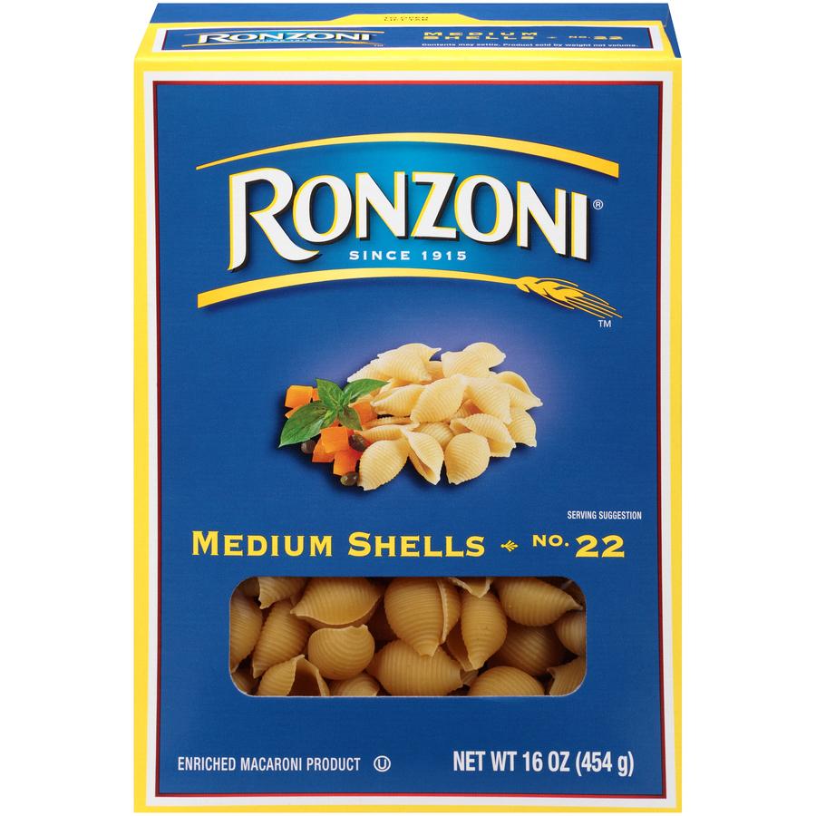 Ronzoni 22 Shell Medium
