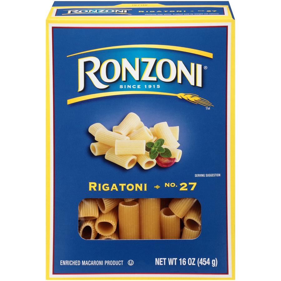 Ronzoni 27 Rigatoni