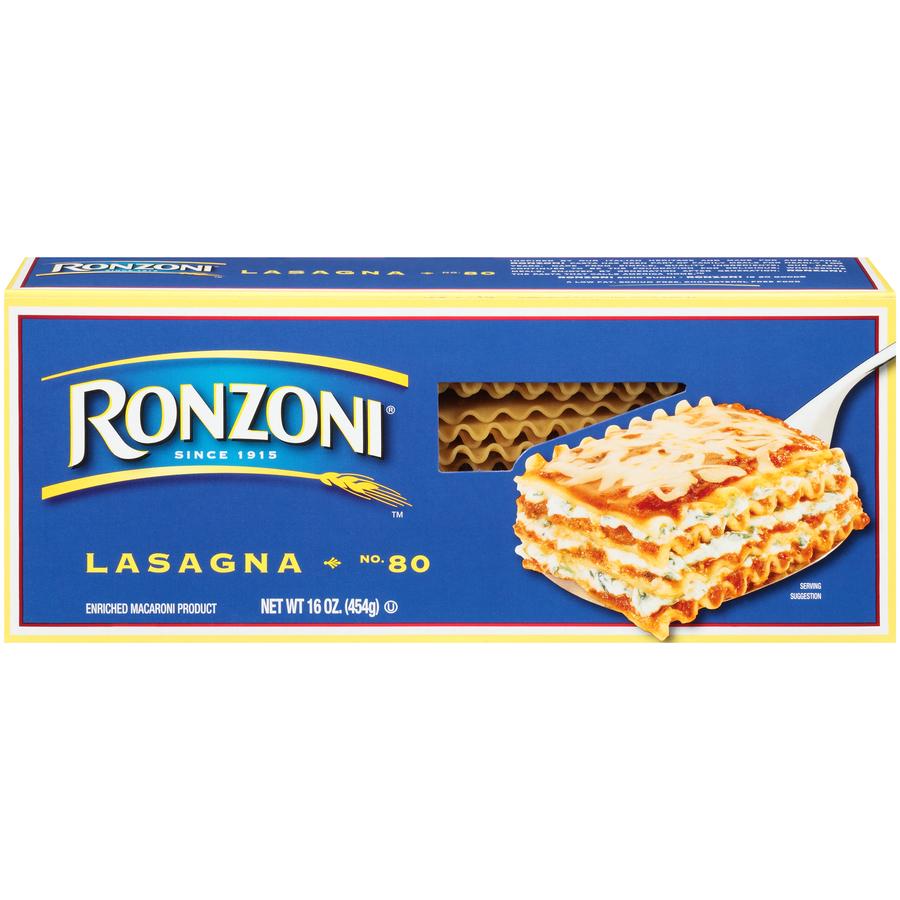 Ronzoni 80 Lasagne