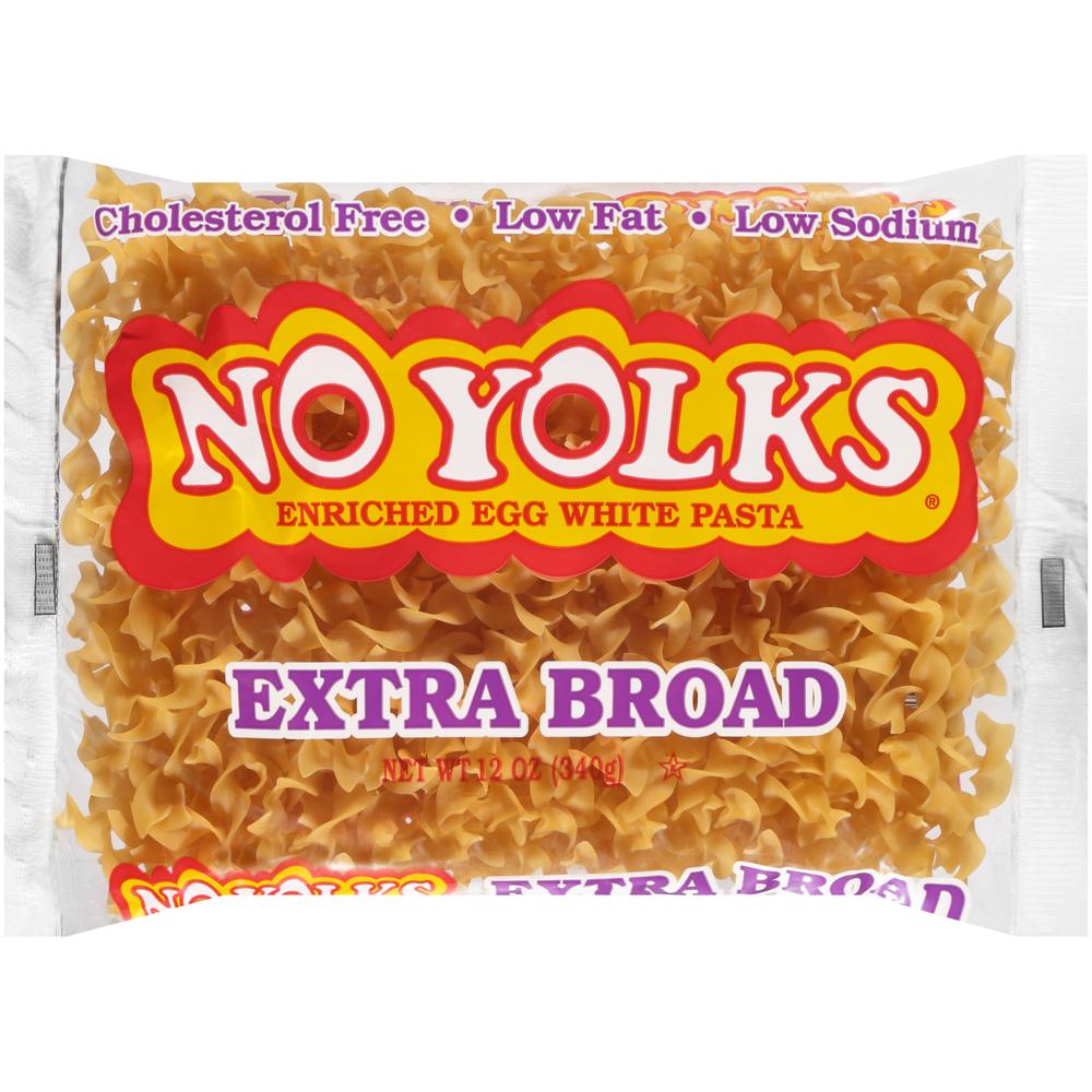 No Yolks Extra Broad Noodles