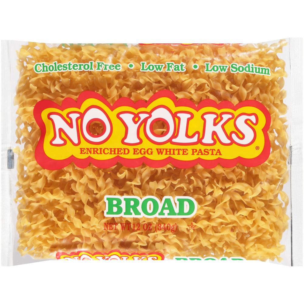 No Yolks Broad Egg Noodles