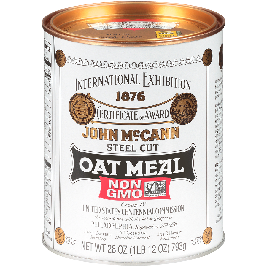 McCann's Irish Oatmeal Traditional Tin
