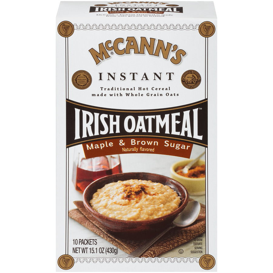McCann's Instant Oatmeal Maple & Brown Sugar